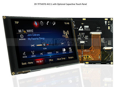 7 7 Inch Tft Lcd Module Display Wmulti-capacitive Touch Panel Screentutorial