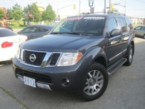 2012 NISSAN PATHFINDER LE   Silver EDN. • Leather