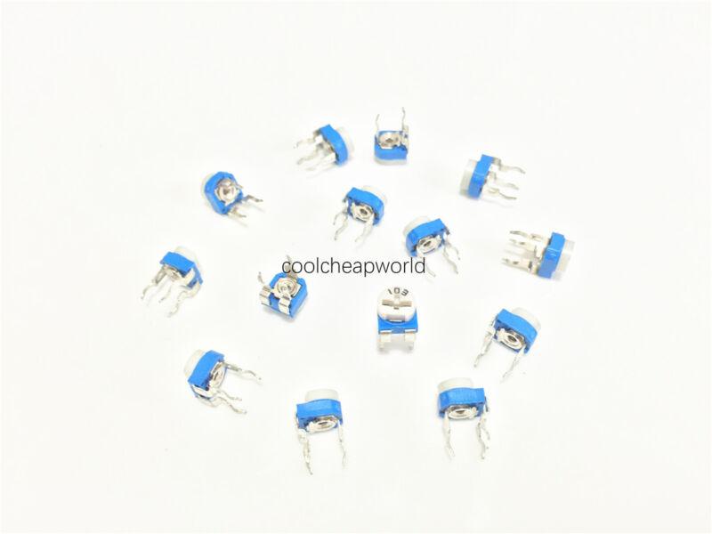 100pcs 10K Ohm 10K R Trimpot Trimmer Pot Variable Resistor Horizontal Type 103