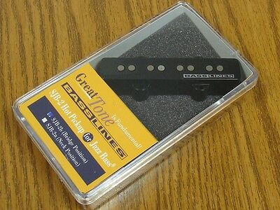 NEW Seymour Duncan SJB-2b Hot Jazz Bass PICKUP Bridge for Fender J Bass