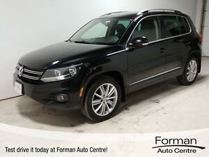 2014 Volkswagen Tiguan Highline - Htd. Leather | Bluetooth |...