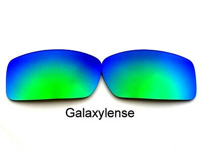 Galaxy Replacement Lenses For Oakley Gascan Emerald Green Polarized (Oakley Green Lenses)