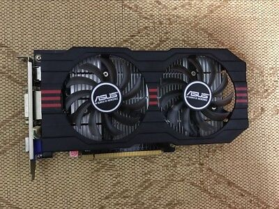 Origina ASUS GeForce GTX 750 2GB GTX750-DF-2GD5 2GB 128-Bit Video Card