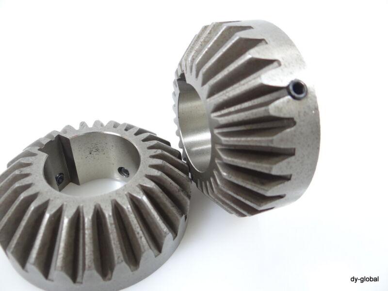 Bevel Gear Used 2EA Outer Diameter 55mm Inner 25mm Ratio 1:1