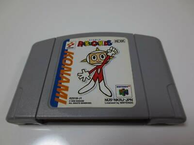 NINTENDO 64 [RAKUGAKIDS ] N64 NTSC-J (Japan) KONAMI 1998 from japan w/Tracking#
