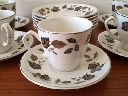 """Alfred Meakin """"Springwood"""" Expresso Duos x 5"""