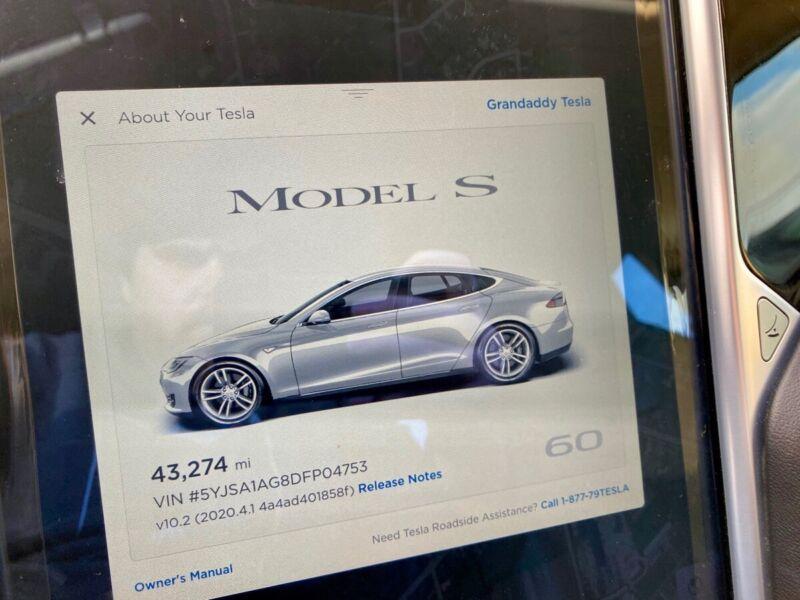 Image 11 Coche Americano usado Tesla Model S 2013