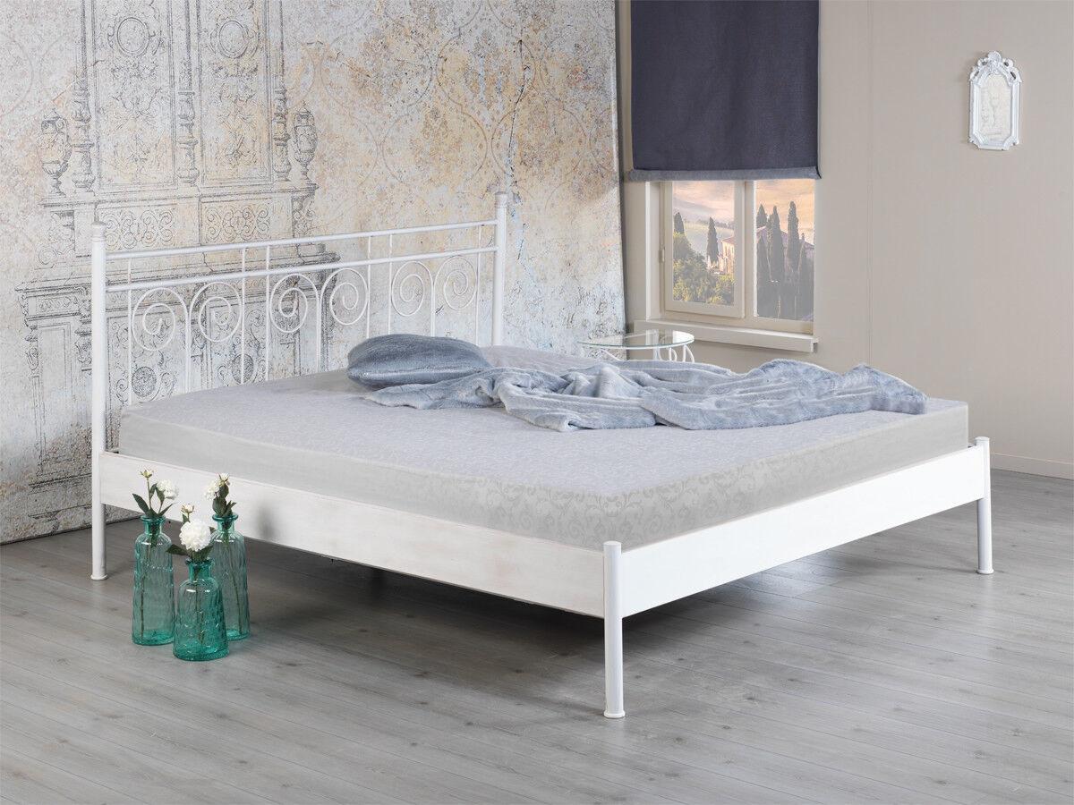 Bett Ida 2 Nako Metallbett Doppelbett Bettgestell 200x200 verschiedene Farben
