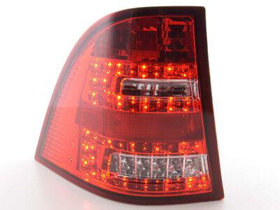 Led Rückleuchten Mercedes M-Klasse Typ W163 Bj. 98-05 klar/rot