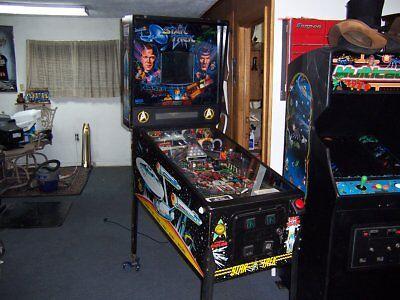 Star Trek 25th anniversary pinball