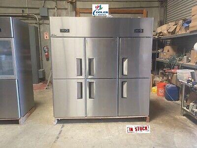 New Six Door Freezer Al46box Cooler Restaurant Equipmentcommercial Kitchen