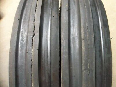 Two 6.00-16600x16600-166.00x16 Discwagon Farm Tractor Tires Wtubes