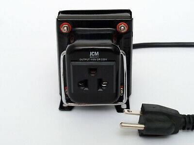 JCM THG-100W Watt 110V to 220V Step Up/Down Transformer Voltage Converter 100 W