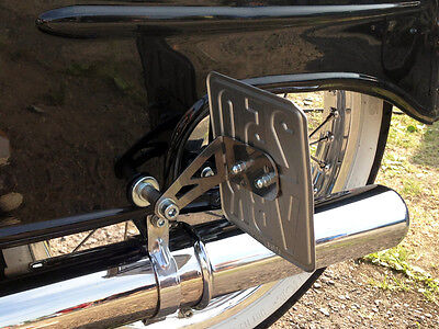 License Plate Holder Side simson schwalbe KR51/1 Tuning