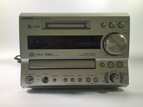 ONKYO FR-X9A CD MD Compact Disk Mini Disk Recorder Audio Deck from Japan USED FS