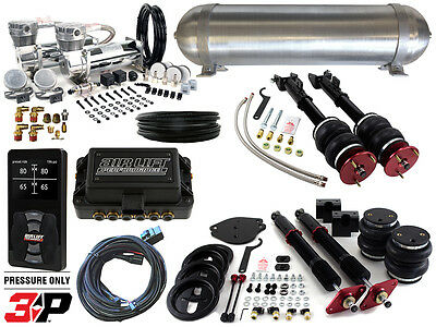 Complete Airbag Suspension Kit w/ Air Lift 3P, 2005-2017 LX Platform Charger