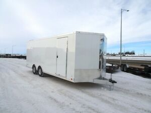 2019 ATC RAVAB8522 Enclosed Car Hauler Trailer