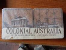 CORK COLONIAL AUSTRALIA COASTER SET Rosewater Port Adelaide Area Preview