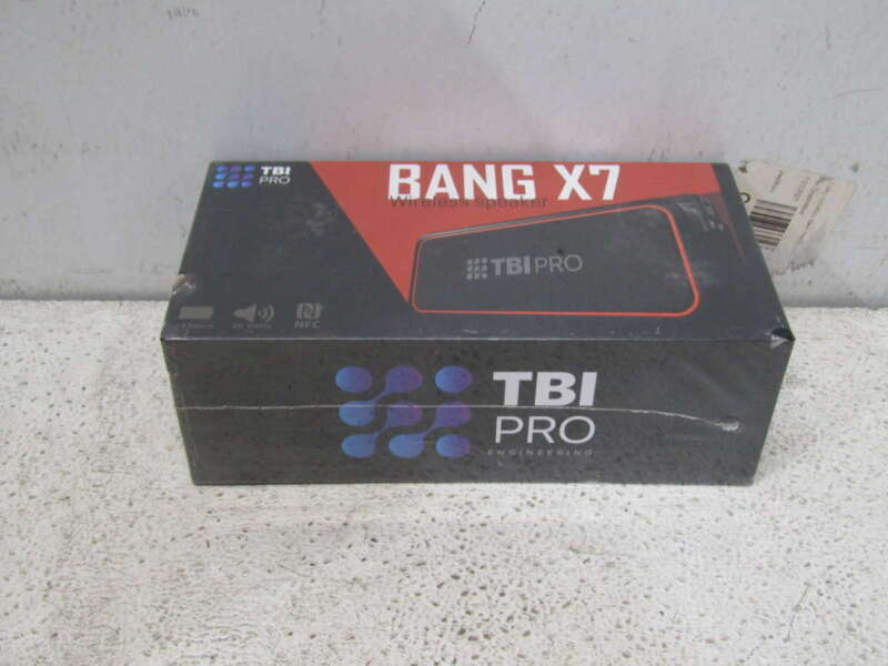TBI Pro 20W Bang X7 Bluetooth Speaker
