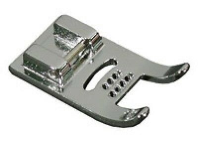 Brother SA158 7mm Cording Foot 7 hole will fit all low shank & snap-on machines (7 Hole Cording Foot)