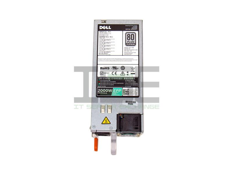 Dell PowerEdge XYK93 2000W Power Supply 80 Plus Platinum