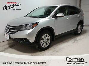 2014 Honda CR-V EX-L - Leather | Certified | Local trade!