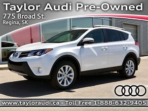 2013 Toyota RAV4 Limited LOCAL TRADE, LEATHER, BLUETOOTH