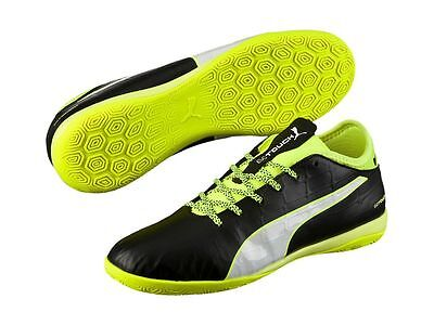 Puma evoTOUCH 3 IT Men's  Black Indoor Football Trainers Sports Shoes