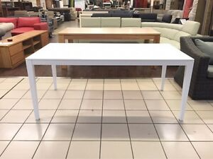 DINING TABLE (MATTE WHITE) Logan Central Logan Area Preview