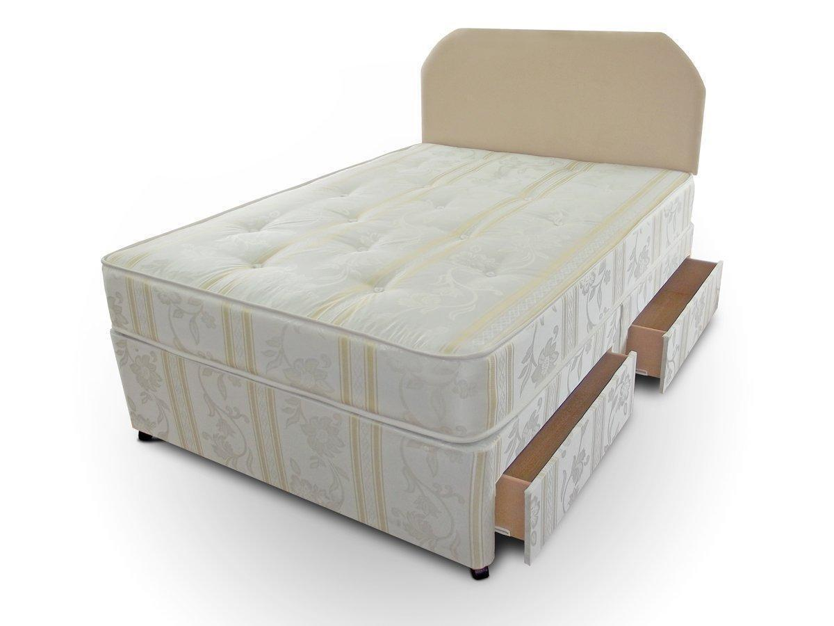 4 drawer divan base ebay for Divan bed with drawers