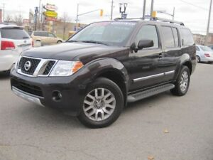 2012 NISSAN PATHFINDER LE SILVER EDITION   Leather