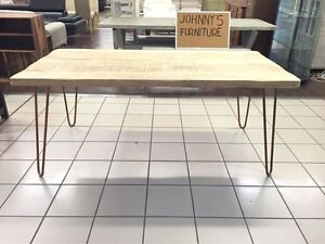 RAVI DINING TABLE 180 CLEAR/COPPER Logan Central Logan Area Preview