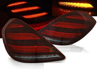 LED Rückleuchten Heckleuchten Set Mercedes Benz S Klasse W222 13-17 rot/klar