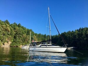 2002 90hp MacGregor 26X power sailor hybrid