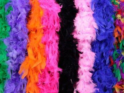 l Feder-Stola Party JGA Karneval 20er Kostüm 1,85m (Feder Boa)