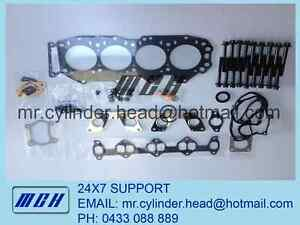 Ford-Courier-Mazda-Bravo-B2500-WLT-WL-T-VRS-Head-Gasket-Kit-Head-Bolt-Set