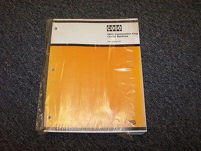 Case 680g Construction King Ck Loader Backhoe Original Parts Catalog Manual 1377