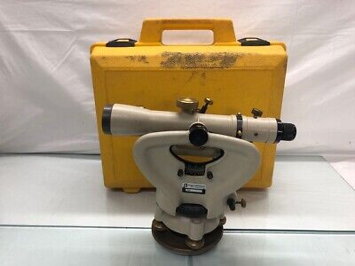 Berger Instruments Model 326 Vintage Surveying Transit