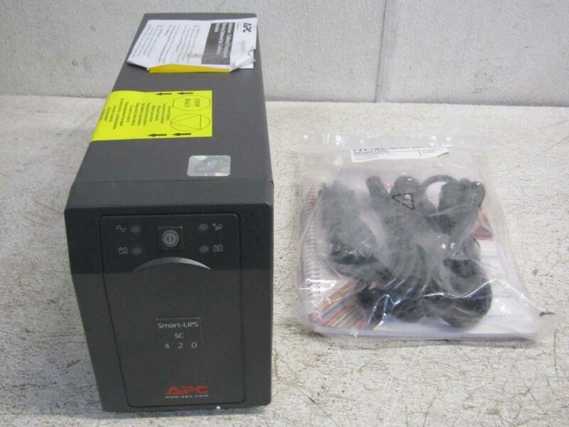 APC SC420 Smart-UPS SC 420VA 260W 4-Outlet UPS Uninterruptable Power Supply