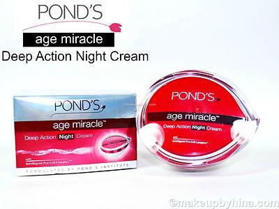 Pond's Alter Wunder Tief Action Nachtcreme - 50 G - Schneller Versand USA Seller