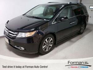 2014 Honda Odyssey Touring|Rmt Start|DVD|Htd Leather|Camera|Pwr