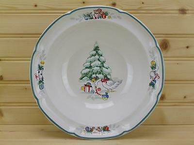 International China COUNTRY CHRISTMAS Round Vegetable Serving Bowl - Japan