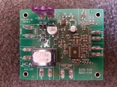8201-114 Bard Icm As4100 Water Supply Control Board Heat Pump Pcb1181-3a