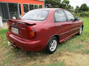 2001 Daewoo Lanos Sedan Goolwa Alexandrina Area Preview