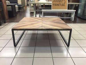 CHEVRON COFFEE SQUARE RECLAIMED TIMBER Logan Central Logan Area Preview