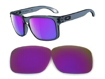 Galaxy Replacement Lenses For Oakley Holbrook Purple 100% UVAB (Purple Lens)