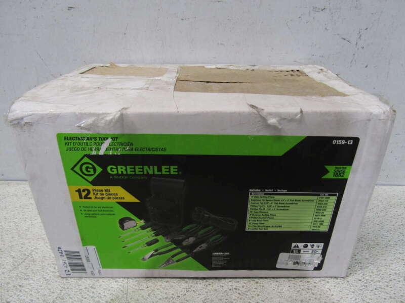 Greenlee 12pc. Standard Electrician