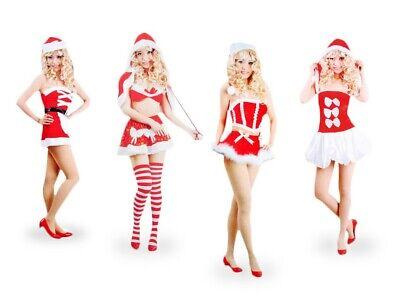 Weihnachts-kostüm für Frauen Damen sexy Santa Weihnachtsfrau Weihnachtsmann - Weihnachtsmann Kostüm Frauen