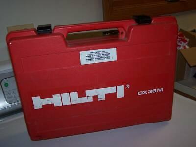 Hilti Dx36m Powder Actuated Nail Gun