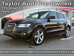 2013 Audi Q5 2.0T Premium Plus LOCAL TRADE, 1 OWNER, S LINE,...